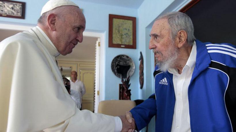 El Papa Francisco en su visita a Cuba.