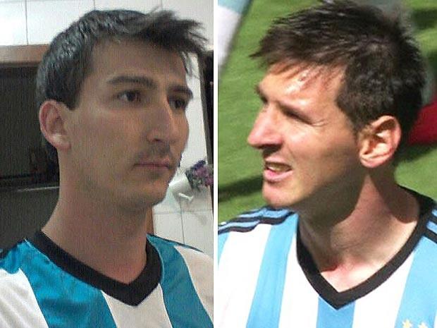 Gustavo Vasconcelos doble de Messi