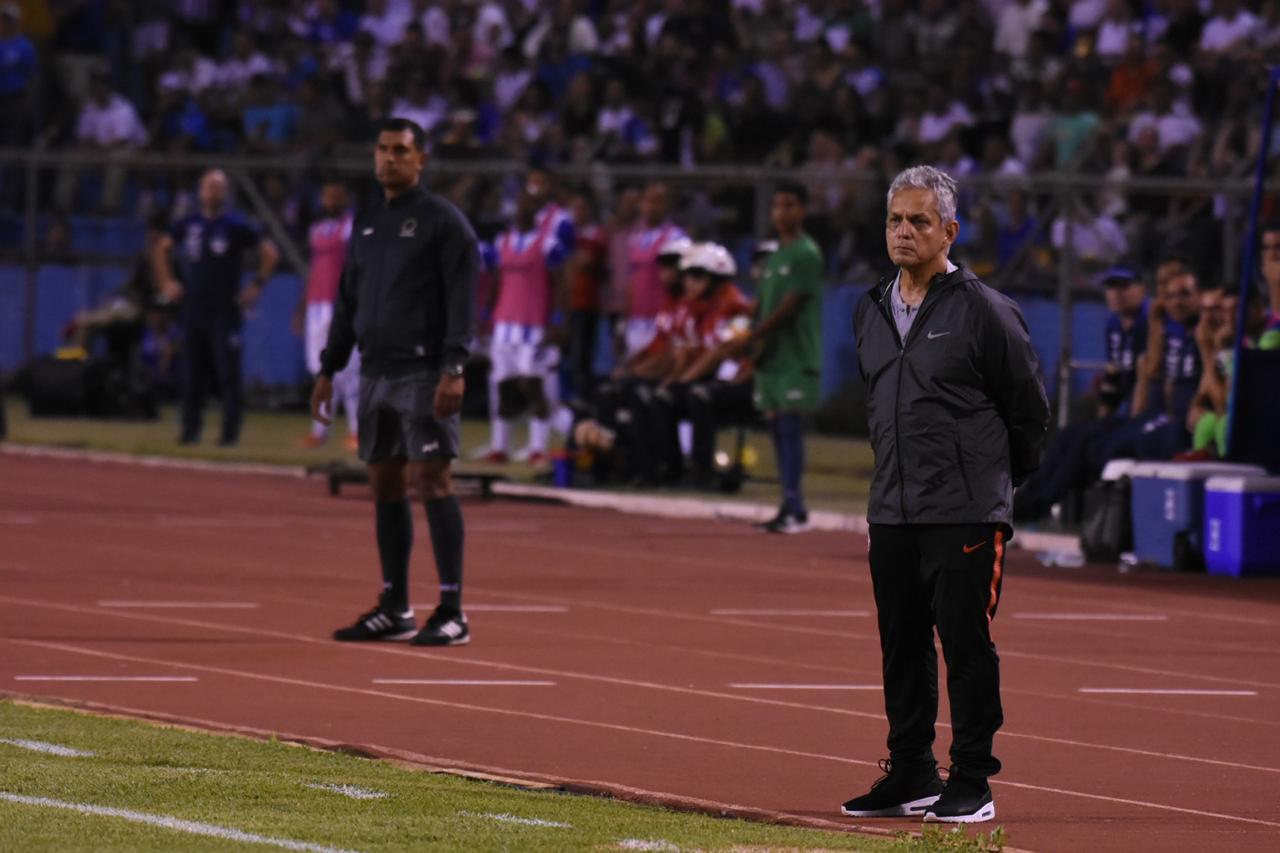 Reinaldo Rueda, técnico de Chile. (Foto de Frank Aguilera).